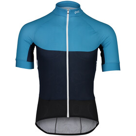 POC Essential Road Light Jersey Heren, basalt blue/turmaline navy